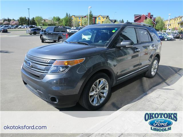 2015 Ford Explorer Limited (Stk: J-1302A) in Okotoks - Image 1 of 24