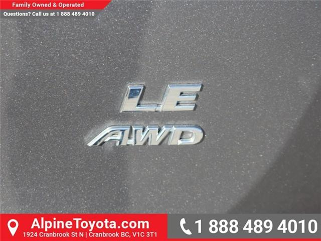 2017 Toyota RAV4 LE (Stk: W578512M) in Cranbrook - Image 18 of 19