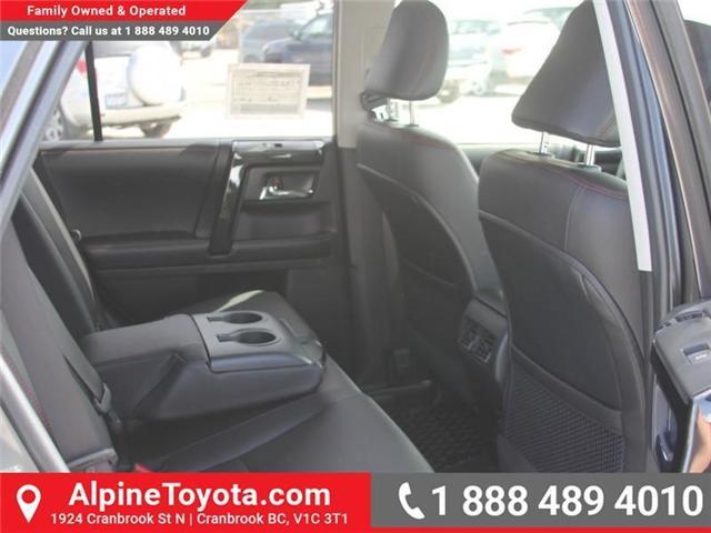 2018 Toyota 4Runner SR5 (Stk: 5563822) in Cranbrook - Image 12 of 20