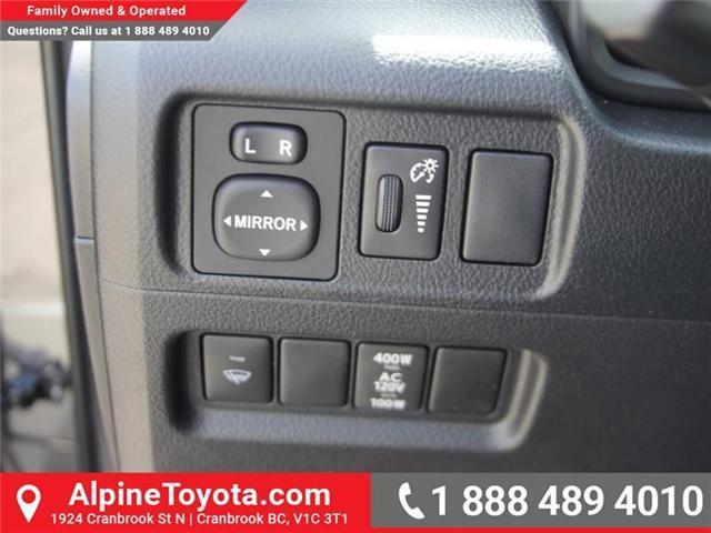 2018 Toyota 4Runner SR5 (Stk: 5563822) in Cranbrook - Image 16 of 20