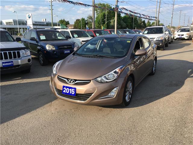 2015 Hyundai Elantra Sport 6MT (Stk: P3463A) in Newmarket - Image 1 of 20