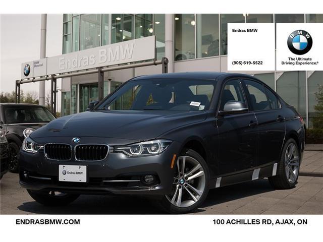 2018 BMW 330 i xDrive (Stk: 35163) in Ajax - Image 1 of 22