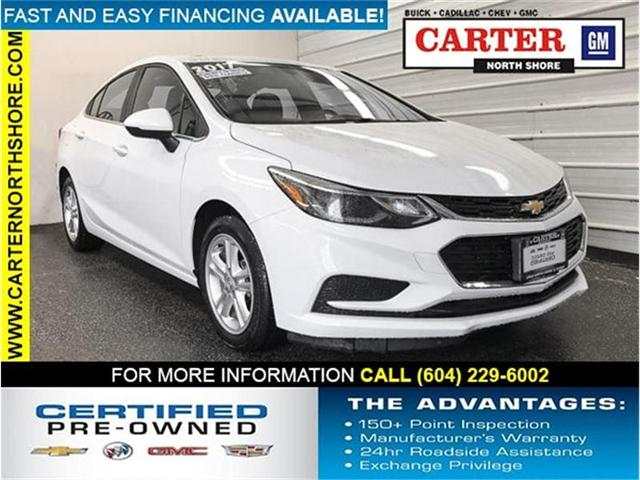 2017 Chevrolet Cruze LT Auto (Stk: 970470) in Vancouver - Image 1 of 26