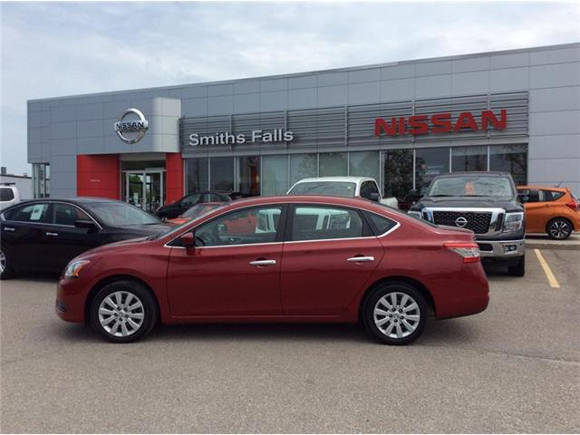 2014 Nissan Sentra 1.8 SV (Stk: P1936) in Smiths Falls - Image 1 of 11