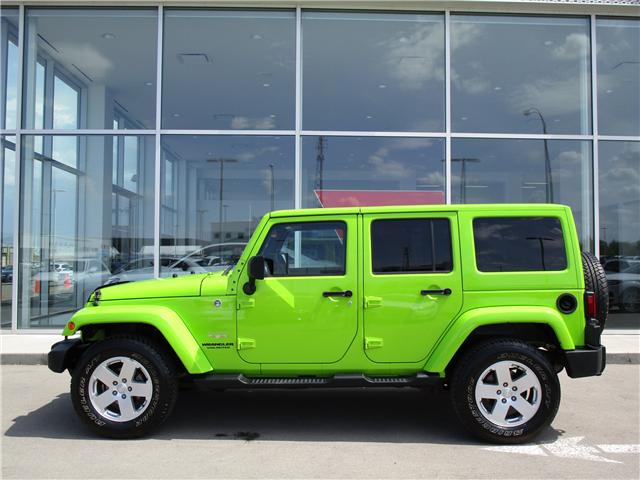 2012 Jeep Wrangler Unlimited Sahara (Stk: 6357) in Regina - Image 2 of 25