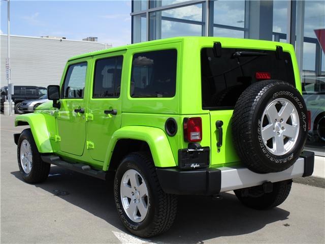 2012 Jeep Wrangler Unlimited Sahara (Stk: 6357) in Regina - Image 3 of 25