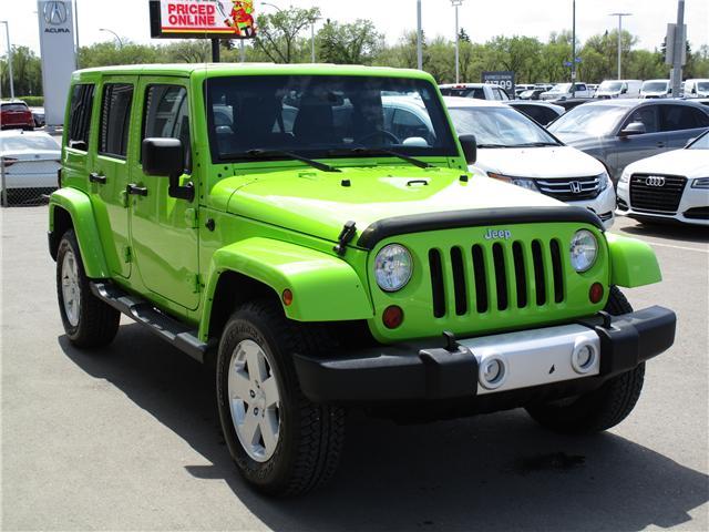 2012 Jeep Wrangler Unlimited Sahara (Stk: 6357) in Regina - Image 5 of 25