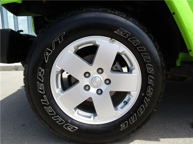 2012 Jeep Wrangler Unlimited Sahara (Stk: 6357) in Regina - Image 8 of 25