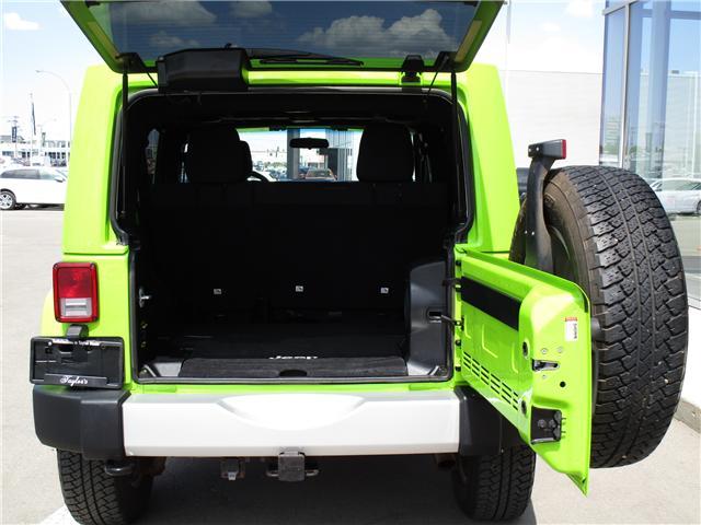 2012 Jeep Wrangler Unlimited Sahara (Stk: 6357) in Regina - Image 9 of 25