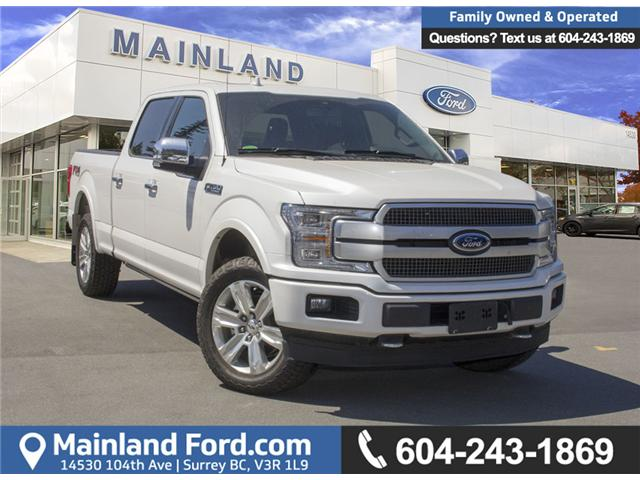 2018 Ford F-150 Platinum (Stk: 8F16099) in Surrey - Image 1 of 30