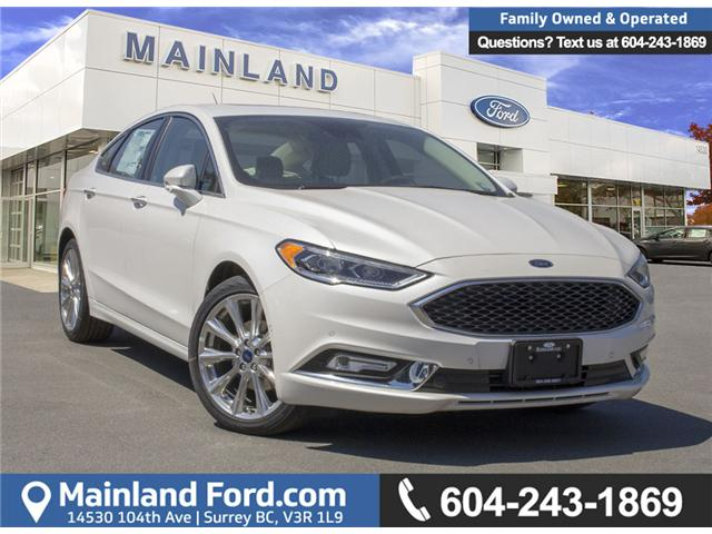 2018 Ford Fusion Platinum (Stk: 8FU2240) in Surrey - Image 1 of 26