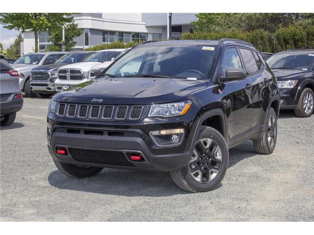 2018 Jeep Compass Trailhawk (Stk: J376602) in Abbotsford - Image 3 of 26