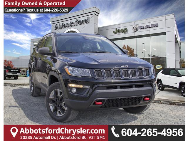2018 Jeep Compass Trailhawk (Stk: J376602) in Abbotsford - Image 1 of 26