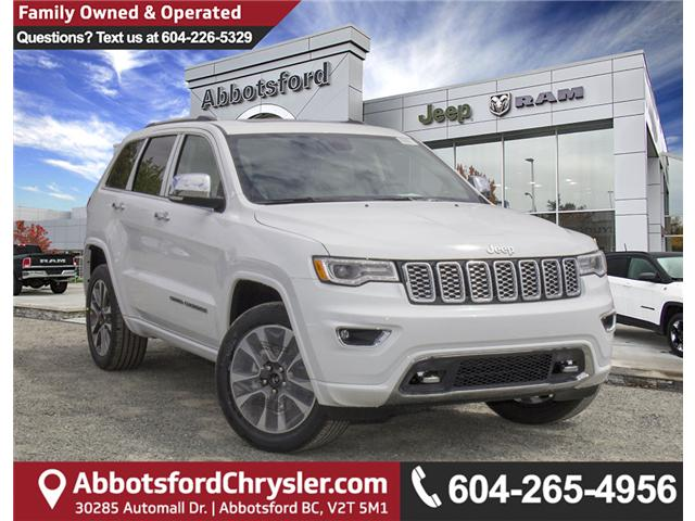 2018 Jeep Grand Cherokee Overland (Stk: J396546) in Abbotsford - Image 1 of 27