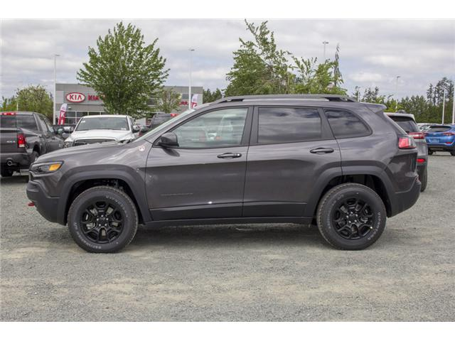 2019 Jeep Cherokee Trailhawk (Stk: K183622) in Abbotsford - Image 4 of 28