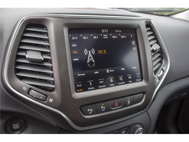 2019 Jeep Cherokee Trailhawk (Stk: K183622) in Abbotsford - Image 22 of 28