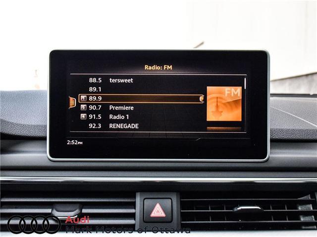 2017 Audi A4 2.0T Technik (Stk: 89839) in Nepean - Image 20 of 30