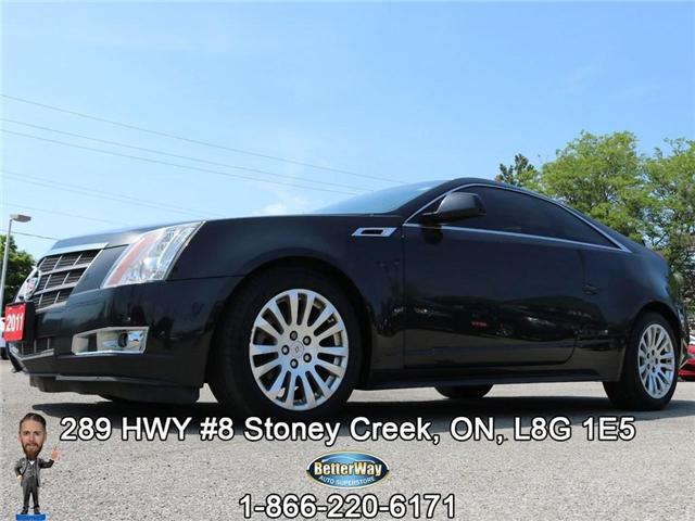 2011 Cadillac CTS Base| Leather| Sunroof| Navi| Backup Cam| AWD! (Stk: 5022) in Stoney Creek - Image 1 of 25