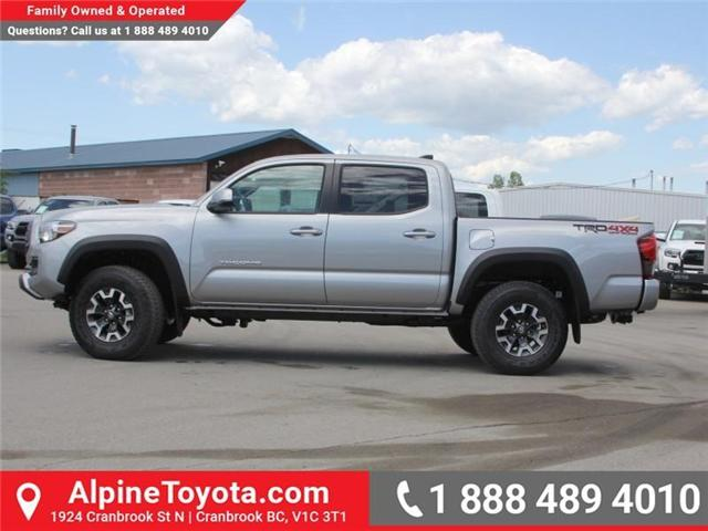 2018 Toyota Tacoma TRD Off Road (Stk: X142147) in Cranbrook - Image 2 of 18