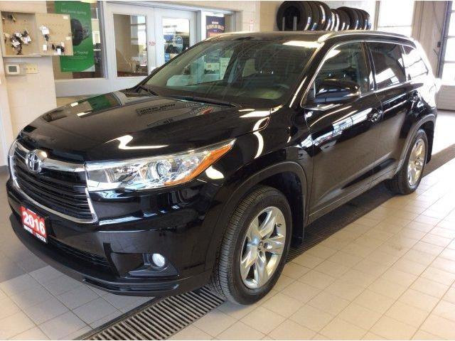 2016 Toyota Highlander Limited (Stk: 10828) in Thunder Bay - Image 1 of 25