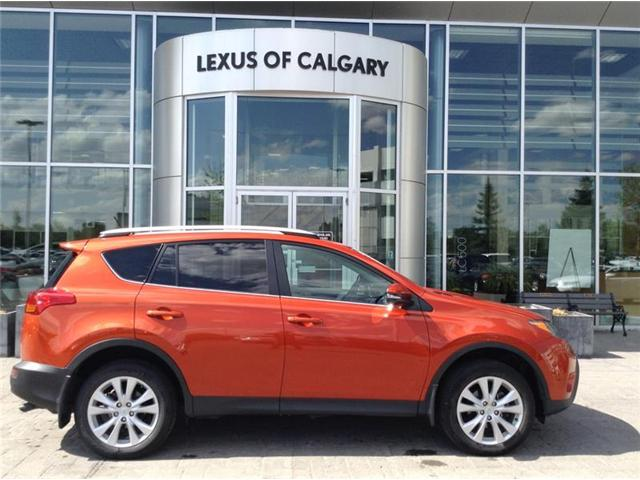 2015 Toyota RAV4 Limited (Stk: 180285A) in Calgary - Image 1 of 15