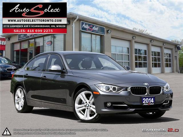 2014 BMW 328i xDrive (Stk: 14QP912) in Scarborough - Image 1 of 30