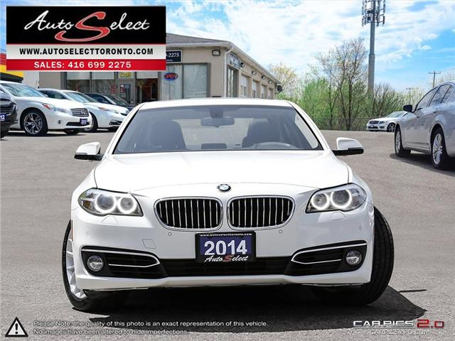 2014 BMW 528i xDrive (Stk: 19AQL991) in Scarborough - Image 2 of 30