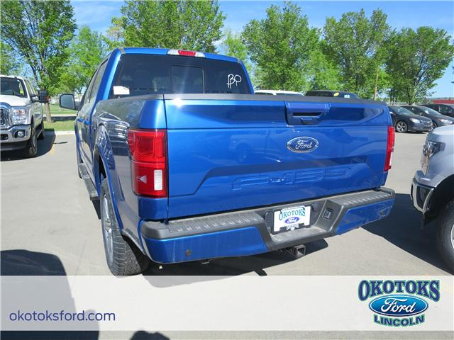 2018 Ford F-150 Lariat (Stk: JK-161) in Okotoks - Image 3 of 5