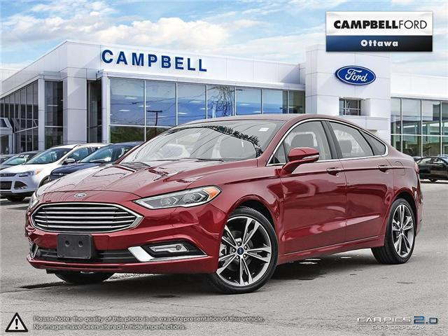 2017 Ford Fusion Titanium ALL THE LUXURY FEATURES---SALE PRICE (Stk: 940780) in Ottawa - Image 1 of 29