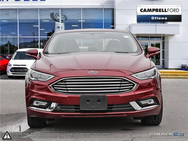 2017 Ford Fusion Titanium ALL THE LUXURY FEATURES---SALE PRICE (Stk: 940780) in Ottawa - Image 2 of 29