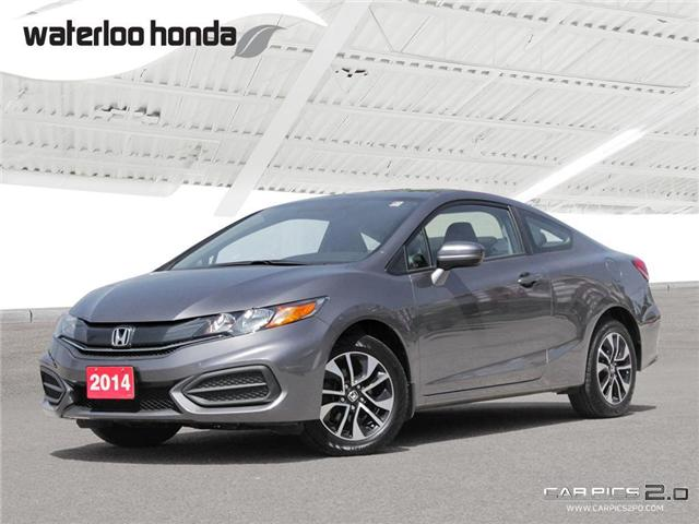 2014 Honda Civic EX (Stk: U3881) in Waterloo - Image 1 of 28