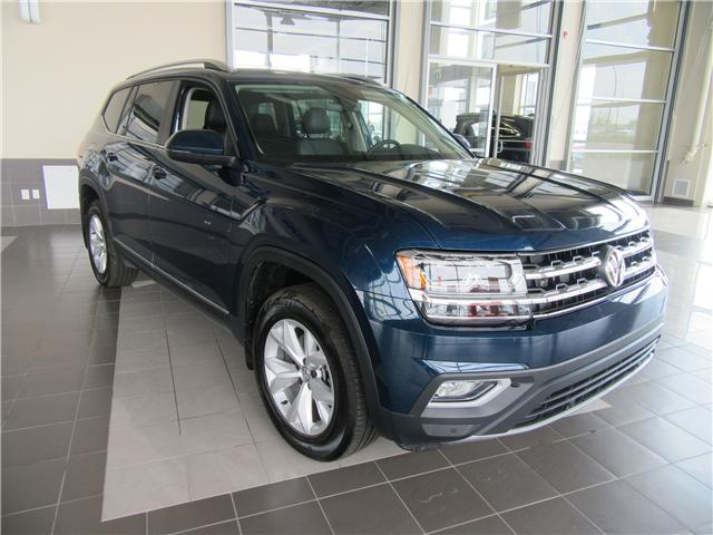2018 Volkswagen Atlas 3.6 FSI Highline (Stk: A3748) in Saskatoon - Image 1 of 28
