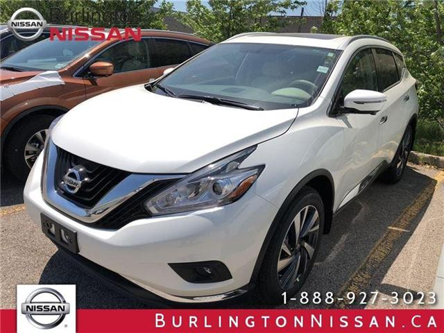 2018 Nissan Murano Platinum (Stk: X8762) in Burlington - Image 1 of 3