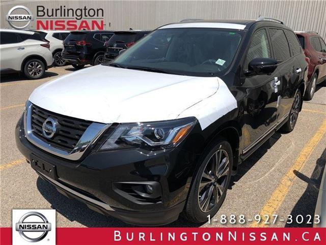 2018 Nissan Pathfinder Platinum (Stk: X4381) in Burlington - Image 1 of 5