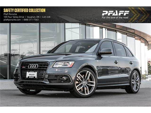 2016 Audi SQ5 3.0T Technik quattro 8sp Tiptronic (Stk: P12757A) in Vaughan - Image 1 of 22