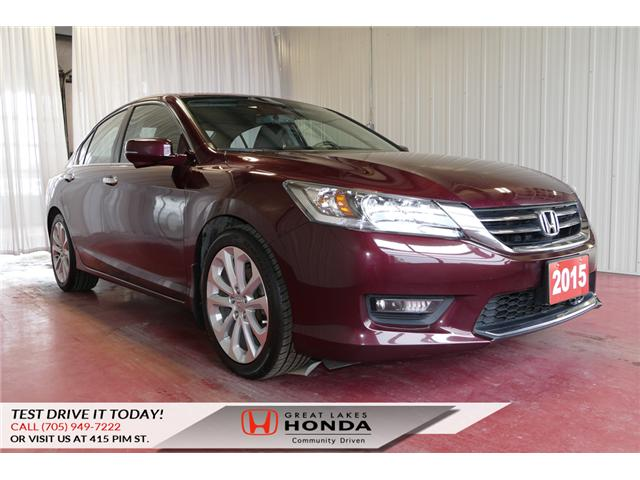 2015 Honda Accord Touring (Stk: HP507) in Sault Ste. Marie - Image 1 of 24