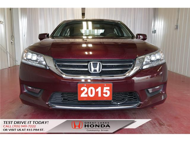 2015 Honda Accord Touring (Stk: HP507) in Sault Ste. Marie - Image 2 of 24