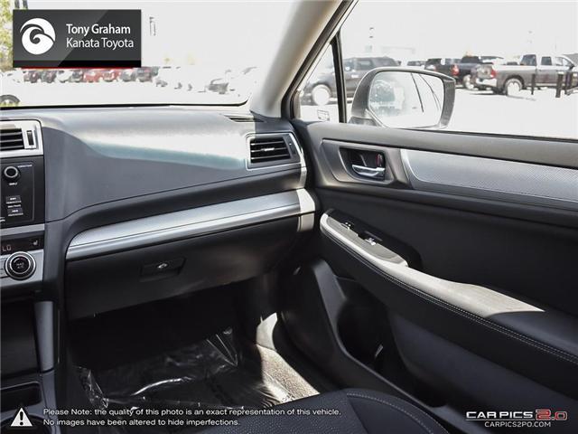 2016 Subaru Legacy 2.5i Touring Package (Stk: 88479A) in Ottawa - Image 11 of 25