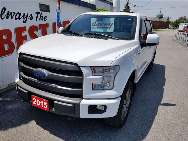 2015 Ford F-150 Lariat (Stk: 17-573) in Oshawa - Image 1 of 21