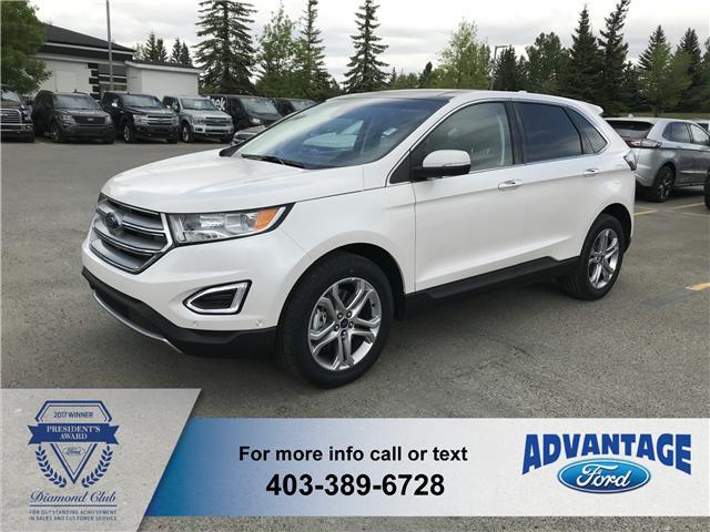 2018 Ford Edge Titanium (Stk: J-120) in Calgary - Image 1 of 6