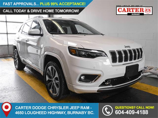 2019 Jeep Cherokee Overland (Stk: K235080) in Burnaby - Image 1 of 6