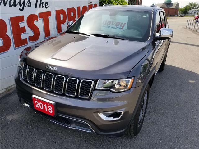 2018 Jeep Grand Cherokee Limited (Stk: 18-199) in Oshawa - Image 1 of 19