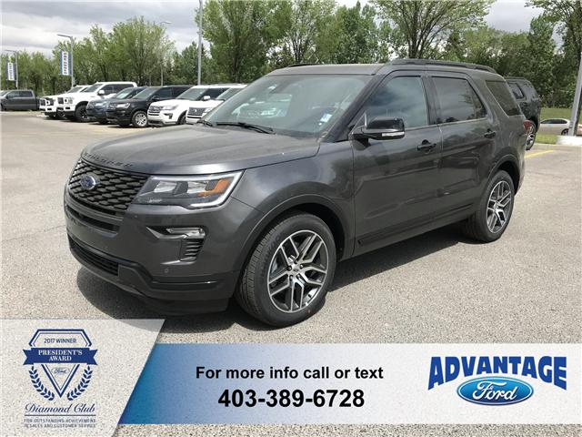 2018 Ford Explorer Sport (Stk: J-937) in Calgary - Image 1 of 5