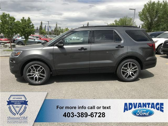 2018 Ford Explorer Sport (Stk: J-937) in Calgary - Image 2 of 5