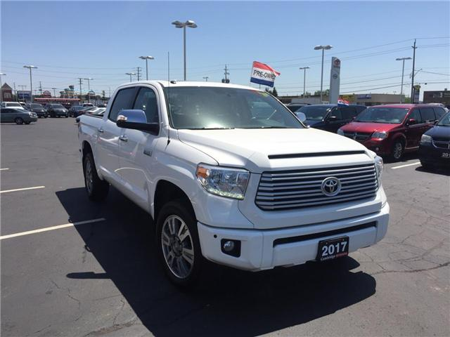 2017 Toyota Tundra  (Stk: 1807301) in Cambridge - Image 4 of 15
