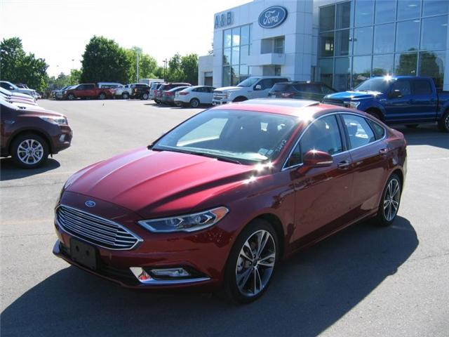 2017 Ford Fusion Titanium (Stk: A5951R) in Perth - Image 1 of 12