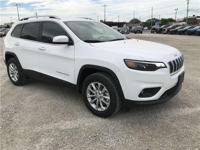 2019 Jeep Cherokee North (Stk: 1954) in Windsor - Image 1 of 11