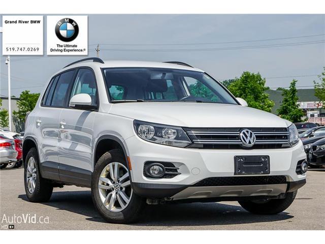 2015 Volkswagen Tiguan Comfortline (Stk: 33826A) in Kitchener - Image 1 of 6