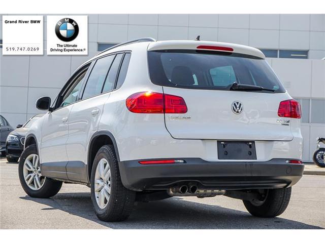 2015 Volkswagen Tiguan Comfortline (Stk: 33826A) in Kitchener - Image 2 of 6