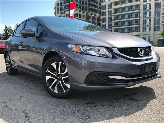 2015 Honda Civic EX (Stk: 181111P) in Richmond Hill - Image 1 of 11